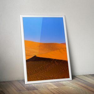 Quadro fine art para decoração Deserto namibia