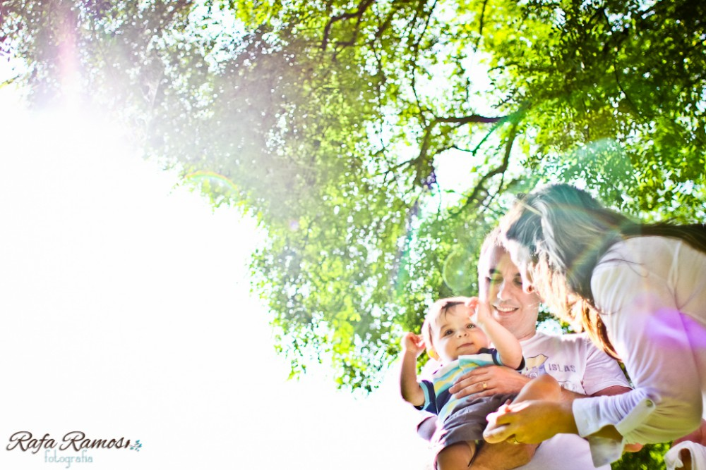 Fernanda, Fabio e Felipe | Ensaio de Família | Jardim Botânico