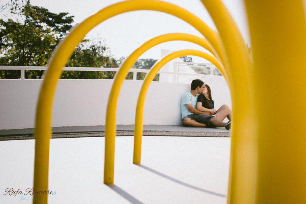 Mari e Daniel | Ensaio de Casal | Parque do Ibirapuera
