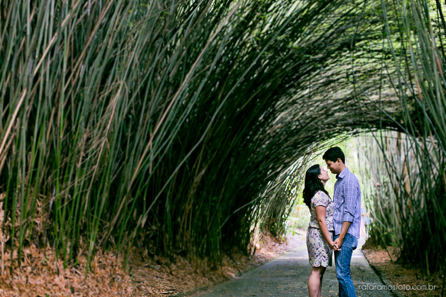Aline e Daniel | Ensaio de Casal | Jardim Botânico