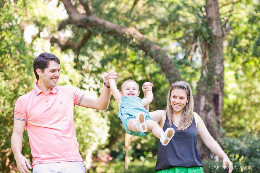 Vanessa, Daniel e Rafaella | Ensaio de Família | Parque Burle Max