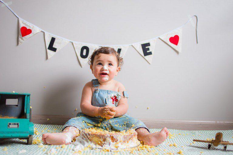 Henry | Smash the Cake em Casa | Fotografia de Família