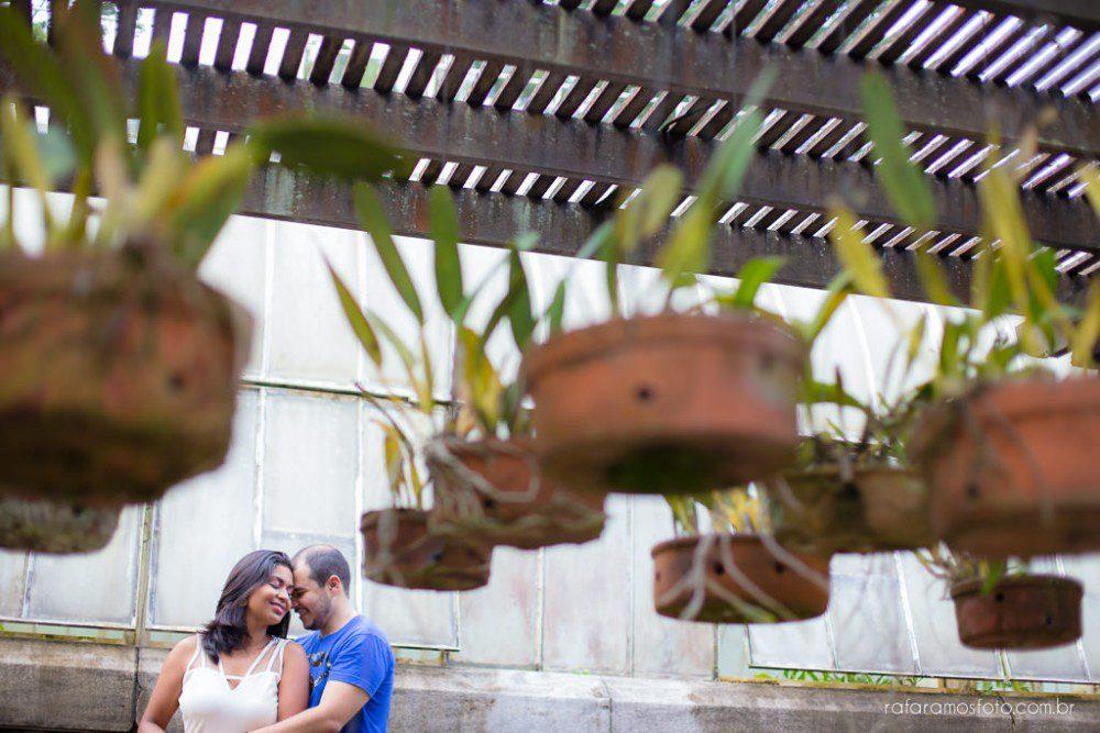 Thais e Rodrigo | Ensaio de Casal | Jardim Botânico SP