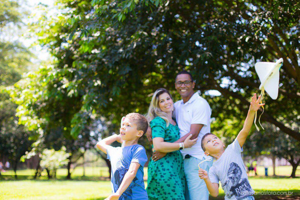 Simone, Edi, Rafa e Guilherme | Ensaio de Família | Parque Villa Lobos