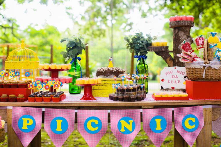 Helena 3 Anos | Aniversário Infantil | Pic Nic na Praça