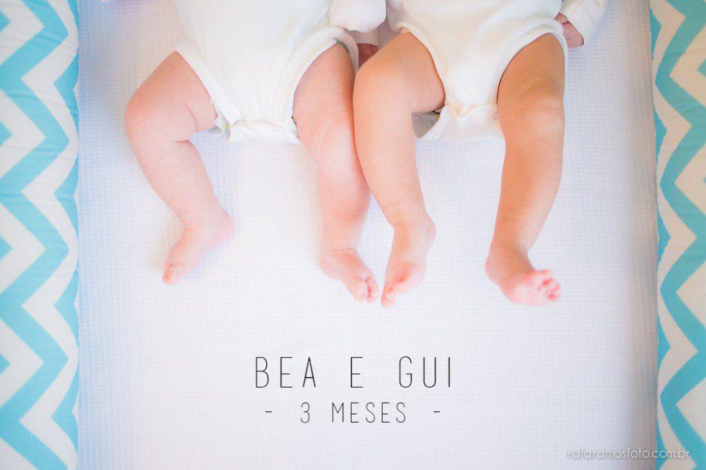 Bea e Gui | Acompanhamento infantil | 3 meses