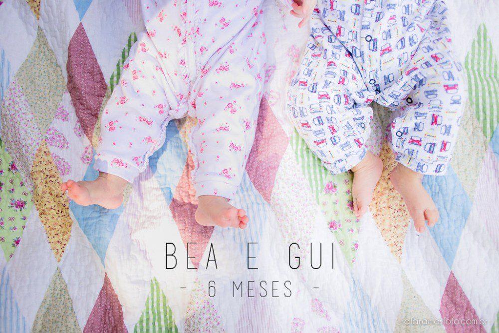 BEA E GUI | ACOMPANHAMENTO INFANTIL | 6 MESES