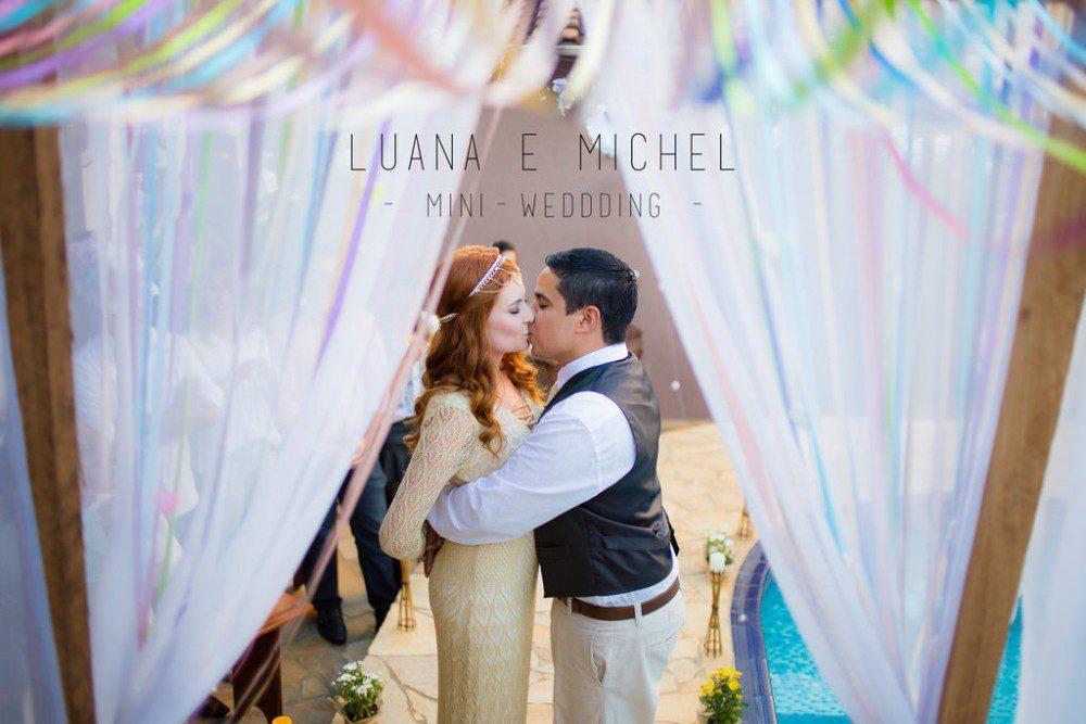 Luana e Michel | Mini-wedding | Lorena-SP | Casamento em Casa
