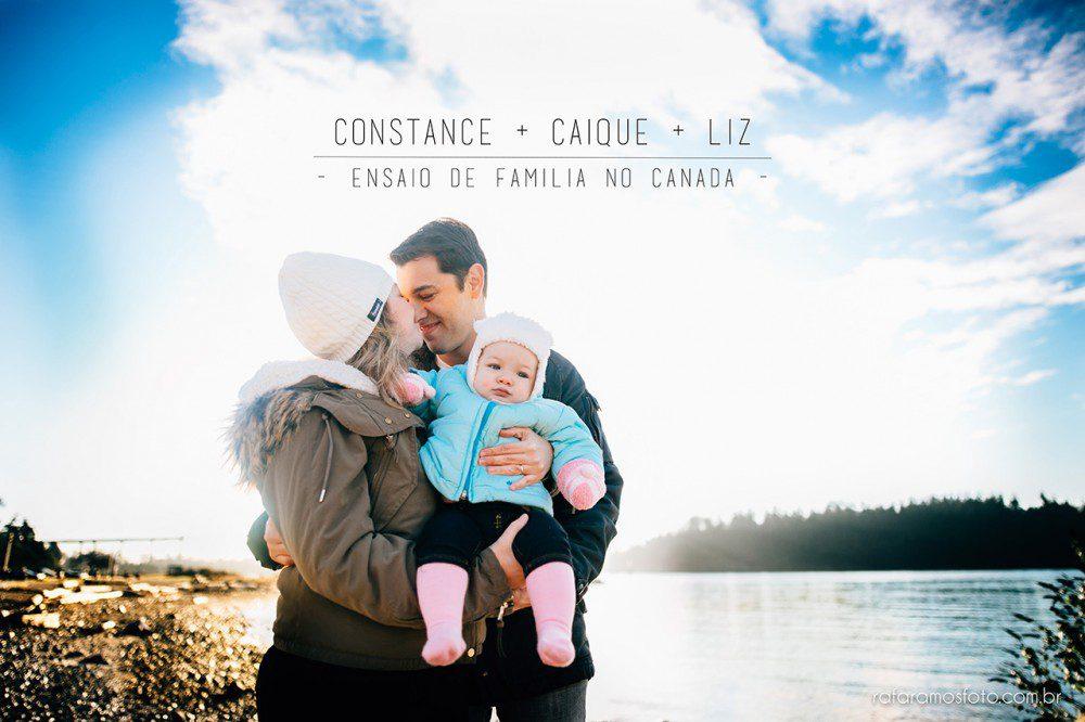 Constance, Caique e Liz | Family session Vancouver | Ambleside Park | Ensaio de família no Canadá