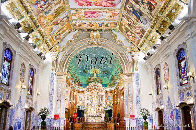 Davi | Batizado |Paróquia Nossa Senhora do Brasil