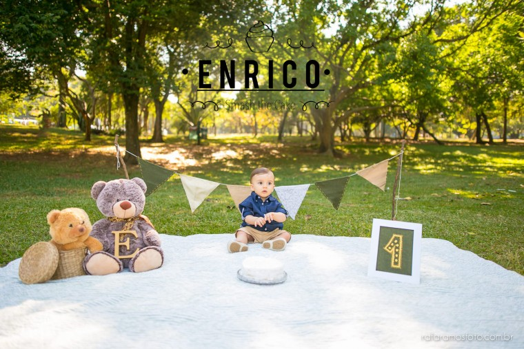 Enrico |Ensaio Smash the cake