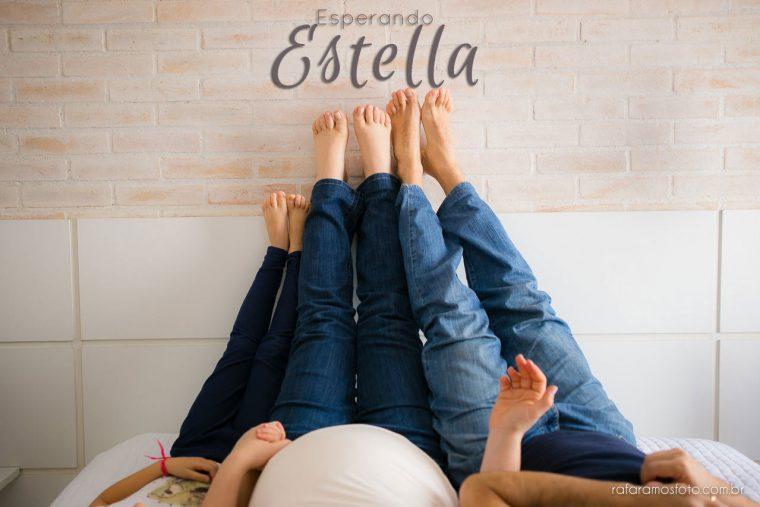 Beth, Renato e Sofie | Ensaio de Gestante | Fotografia de família