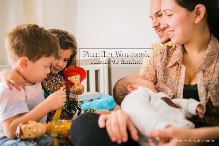 Família Wernek | Ensaio de família em Casa