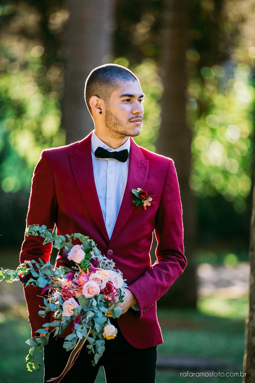 casamento boho chic casamento ao ar livre inspiracao roupa noivo terno marsala fotografo de casamento interior sp 112