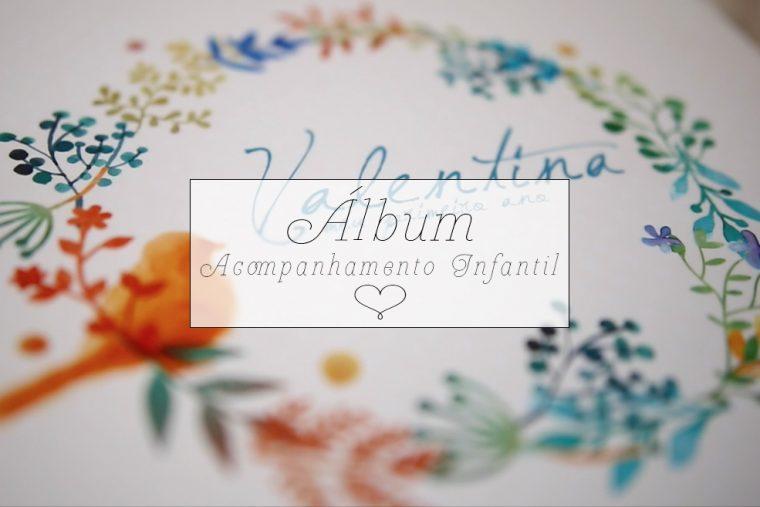 Álbum fotográfico | Acompanhamento trimestral do bebê