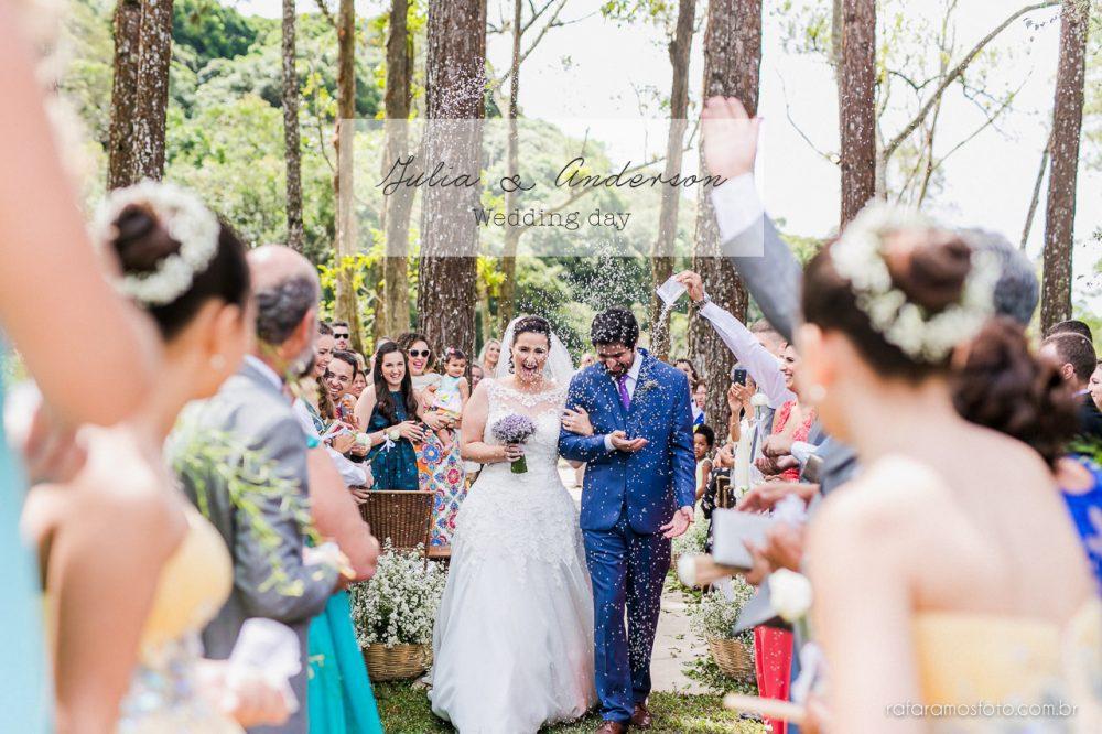 Julia e Anderson | Casamento ao ar livre | Espaço Serra do Mar