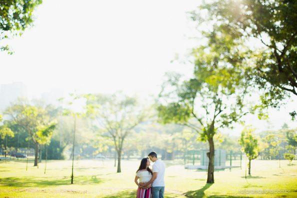 Ensaio Gestante no Parque | Livia e André